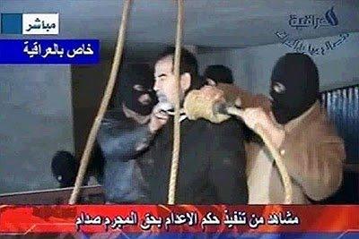 Saddam Hussein enforcado